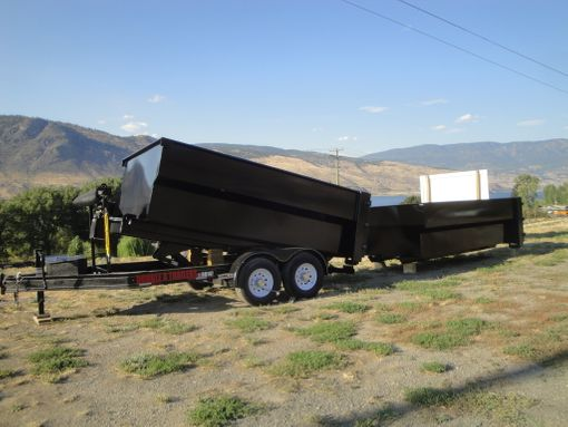 Double A Original 14 ft Roll Off Bin Trailer